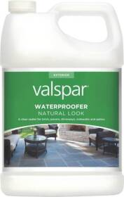 Valspar 82092 Waterproofer Flat Natural Look 1 Gal