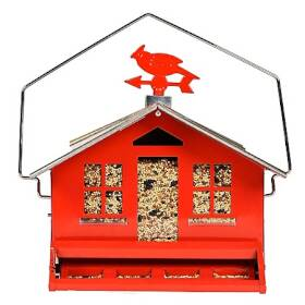 Perky Pet 338 Squirrel Be Gone II Country Style Wild Bird Feeder