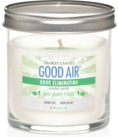 The Yankee Candle Co, I 1198008 Just PlainFresh Good Air Odor Eliminating 6 oz Candle