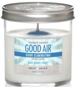 The Yankee Candle Co, I 1155856 Just Plain Clean Good Air Odor Eliminating 6 oz Candle