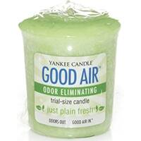 The Yankee Candle Co, I 1254228 Just Plain Fresh Good Air Odor Eliminating Trial Size Candle