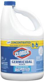 Clorox Co. 30790 Germicidal Concentrated Bleach 121 oz