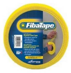 Saint-gobain Adfors FDW8663-U Drywall Tape Fiberglass Yellow 1.9 in X300 ft