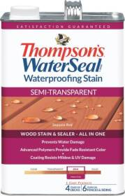 Thompsons 6531107 Waterproofing Stain Semi-Transparent Cedar Gallon