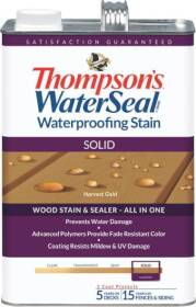 Thompsons TH.043811-16 WaterSeal Waterproofing Solid Stain In Harvest Gold