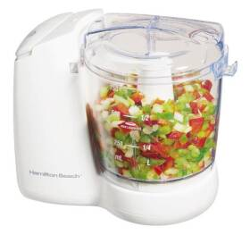 Hamilton Beach 72600 3 Cup Corded Food Chopper 2 Speed