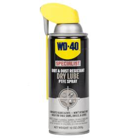 WD-40 Company 300059 Specialist Dirt And Dust Resistant Dry Lube Ptfe Spray, 10 Oz