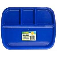 FLP 8033 Plastic 4 Section Tray