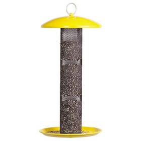 Perky Pet YSSF00346 Straight Sided Finch Tube Wild Bird Feeder
