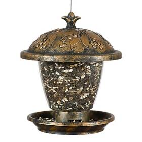 Perky Pet 305 Holly Berry Gilded Chalet Bird Feeder