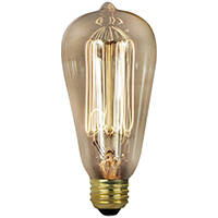 Orgill Inc BP40ST19 40 Watt Clear Incandescent Light Bulb