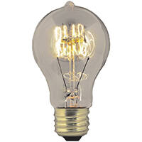 Orgill Inc BP40AT19 40 Watt Clear Incandescent Vintage Light Bulb