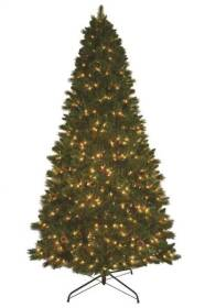 General Foam OR-RAF145449 9 ft Pre-Lit Holiday Christmas Tree