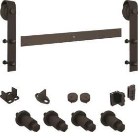Stanley N186-960 Sliding Door Hardware Kit Oil Rubbed Bronze