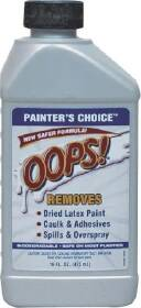 Weiman Products 1021 Oops Painter's Choice Adhesive All Purpose Remover Clear 16 oz
