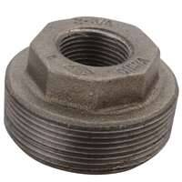 World Wide Sourcing 6100226 1 1/2x1 1/4 Black Hex Bushing