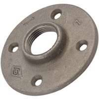 Worldwide Sourcing 27-2G 2 in Galvanized Malleable Floor Flange