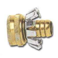 Gilmour 0612416 1/2 in Brs Hose Coupler Clinch