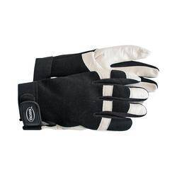 Boss Mfg Co 4047L Glove Sheepskn Spandex Bck Lg