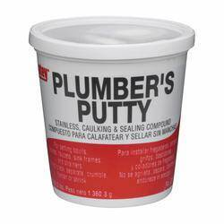 Oatey 31166 14 oz Stainless Plumbers Putty