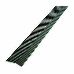 M-D Building Products 43854 36 in Pewter Fluted Carpet Trim