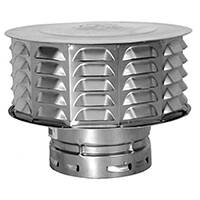 American Metal 6ECW 6 in Vent Cap - 2wall