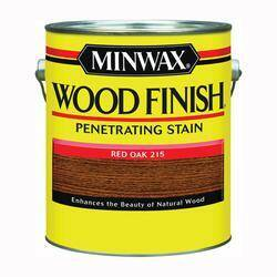 Minwax 71040000 Gal Red Oak Int Wood Stain