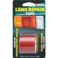 Incom Manufacturing RE36034 Red Lens Repair Tape 1.5 x 5 ft