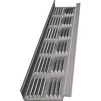 LL Building Products LSV8 8 ft Mill Louvered Soffit Vent