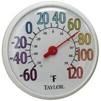 Taylor Precision Products 6714 12 in Rainbow Thermometer