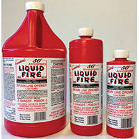 Amazing Products Inc 6277180 Lf-G-4 Liquid Fire 128 oz Drai