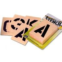 Hy-ko Products ST-4 4 in Number/Letter Stencil Kit