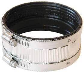 Fernco PNH-4 4 in Stainless Steel No Hub Coupling