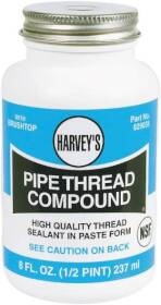 Harvey's 029035 8 oz Pipe Compound