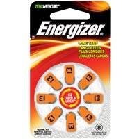 Energizer Battery AZ13DP-8 #13 Hearingaid Battery