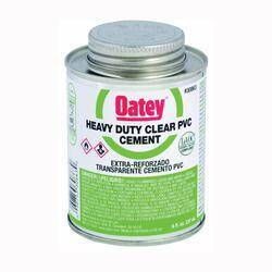 Oatey 30876 16 oz Lovoc Pvc Heavy Duty Clr Cement
