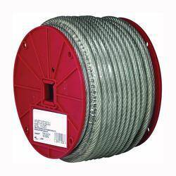 Campbell Chain 700-0497 1/8 in Vinyl Coated Cable 250 ft