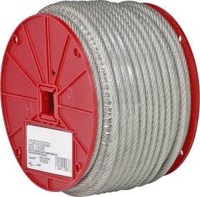 Campbell Chain 700-0697 3/16 Vinyl Coated Cable 250 ft