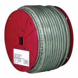 Campbell Chain 700-0397 3/32 Vinyl Coated Cable 250 ft