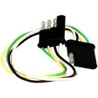 United States Hardware RV-358C 4-Way Flat W/12 In Wires