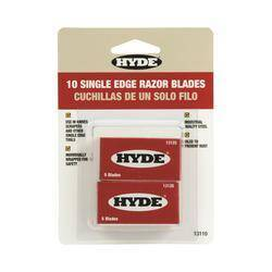Hyde Tools 13110 Single Edge Razor Blades