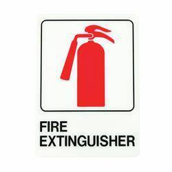 Hy-ko Products D-16 5x7fire Extinguisher Deco Sign