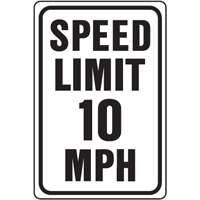 Hy-ko Products HW-10 10 Mph Speed Limit Hwy Sign