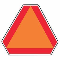 Hy-ko Products TA-1 Slow Moving Emblem Sign