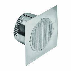 Lambro Industries 142 Eave Vent 4 in B/F 6 in Sq Base