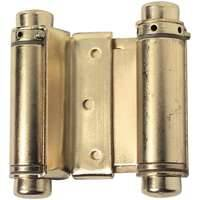 Stanley Hardware 463040 3 in Satan Brass Double Acting Steel Spring Hinge