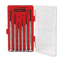 Stanley Tools 66-039 6pc Precision Screwdriver Set