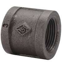 World Wide Sourcing 6949408 1-1/4 Black Malleable Coupling
