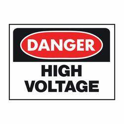 Hy-ko Products 508 Danger High Voltage Osha Sign