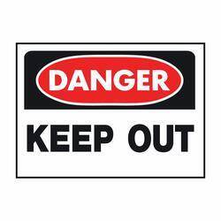 Hy-ko Products 512 Danger Keep Out Osha Sign